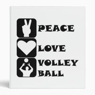 Voleibol del amor de la paz