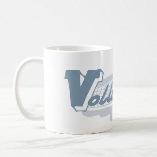 Voleibol del azote taza