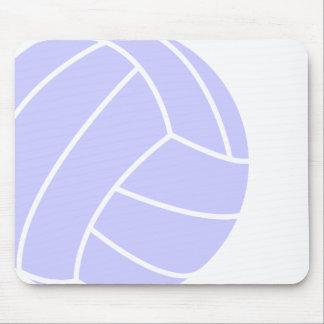 Voleibol del azul de la lavanda tapetes de raton