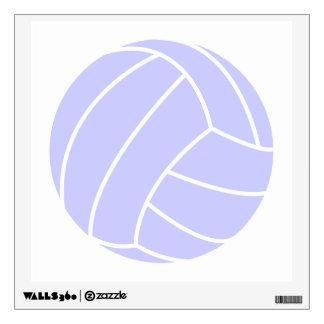 Voleibol del azul de la lavanda vinilo decorativo