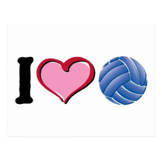 Voleibol del corazón I Postales