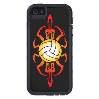 Voleibol del escarabajo iPhone 5 protectores