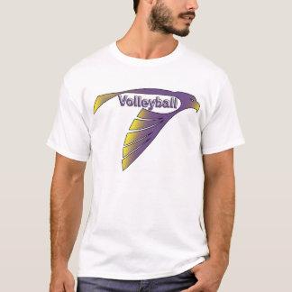 Voleibol del halcón playera