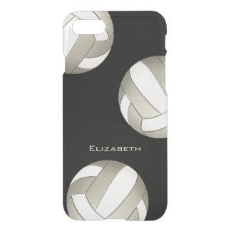 voleibol del platino y de las mujeres blancas funda para iPhone 7