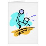 Voleibol del punto tarjetón
