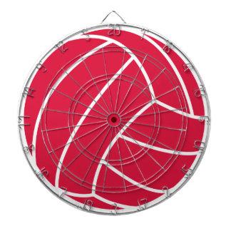 Voleibol del rojo carmesí