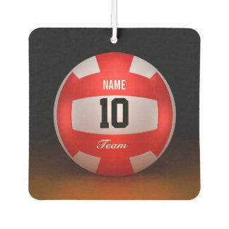 Voleibol del rojo del personalizar