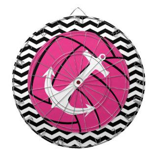 Voleibol del rosa del zigzag de Chevron y