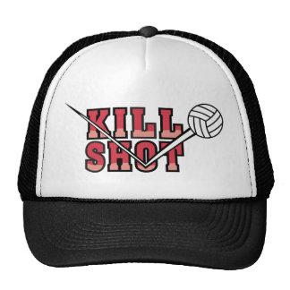 voleibol del tiro de la matanza gorro de camionero