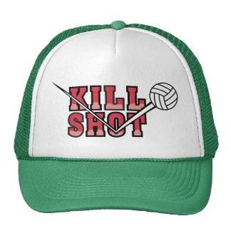 voleibol del tiro de la matanza gorros