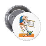 Voleibol divertido pins