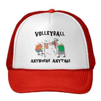 Voleibol dondequiera en cualquier momento gorro de camionero