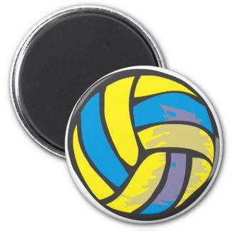 Voleibol en estilo a mano iman