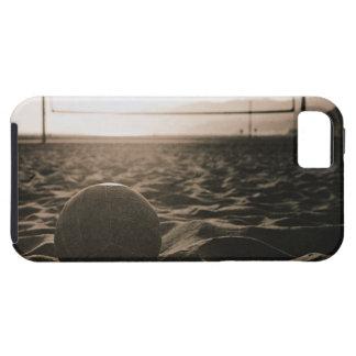 Voleibol en la arena iPhone 5 Case-Mate carcasa