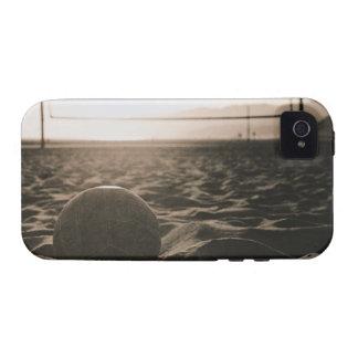 Voleibol en la arena iPhone 4/4S carcasa