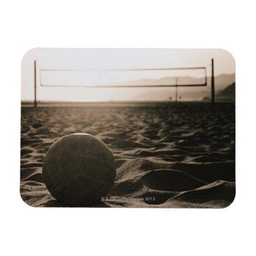 Voleibol en la arena imanes flexibles