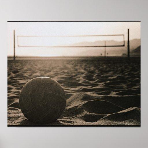 Voleibol en la arena posters