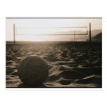 Voleibol en la arena postales