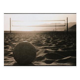 Voleibol en la arena postal