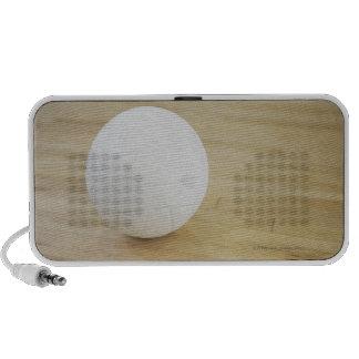 Voleibol en piso de madera sistema altavoz