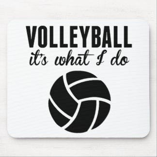 Voleibol es lo que lo hago alfombrilla de ratón
