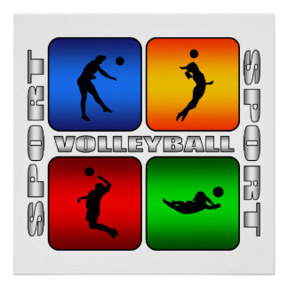Voleibol espectacular poster