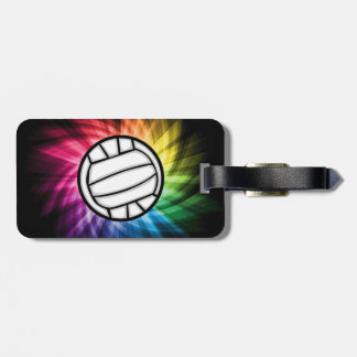 Voleibol Espectro Etiquetas De Maletas