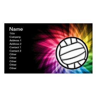 Voleibol; Espectro Tarjetas De Visita