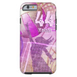 Voleibol femenino funda de iPhone 6 tough