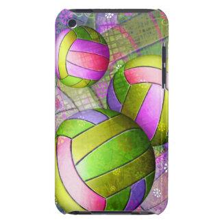 Voleibol femenino sucio Case-Mate iPod touch cárcasa