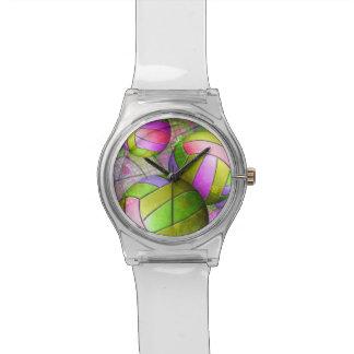 Voleibol femenino sucio relojes de pulsera