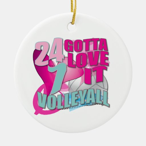 Voleibol fresco 24 7 regalos adornos