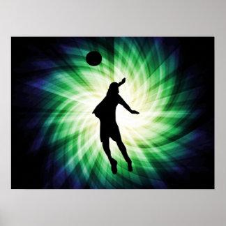 Voleibol fresco posters
