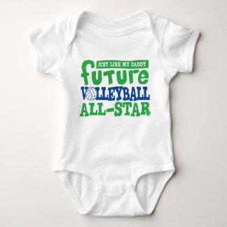 Voleibol futuro todo el Estrella-Papá Remeras