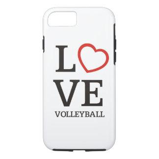 Voleibol grande del AMOR Funda iPhone 7