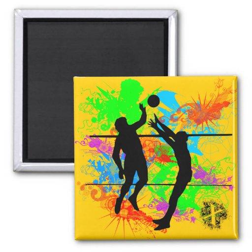 Voleibol Imán Cuadrado