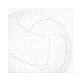 voleibol impresión en lienzo