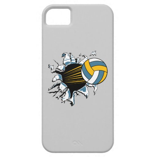 Voleibol iPhone 5 Case-Mate Protectores