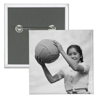 Voleibol japonés WWII del campo de internación Pin