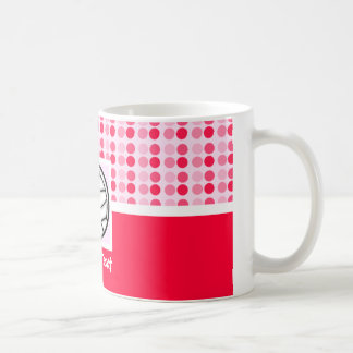 Voleibol lindo tazas de café