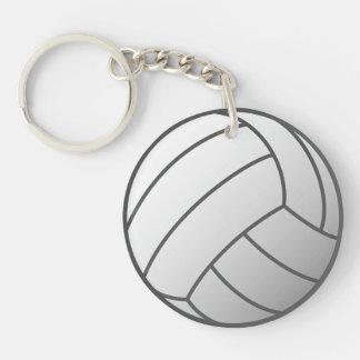 Voleibol Llavero Redondo Acrílico A Doble Cara
