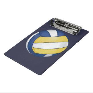 Voleibol Minicarpeta De Pinza