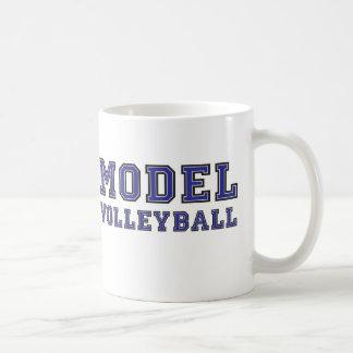 Voleibol modelo 2 tazas de café