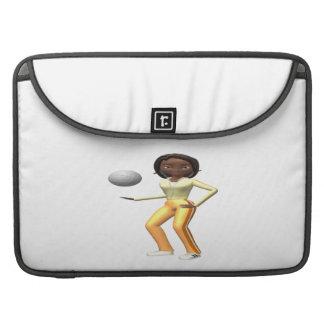 Voleibol para mujer funda para macbooks