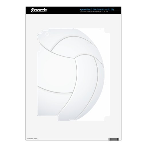 voleibol pegatina skin para iPad 3