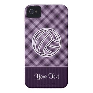 Voleibol púrpura iPhone 4 Case-Mate carcasas