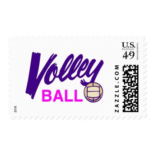 Voleibol (púrpura/rosa) envio