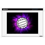 Voleibol púrpura skins para portátil