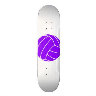 Voleibol púrpura violeta skate board