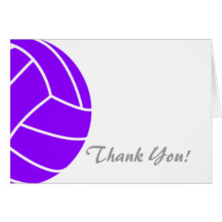 Voleibol púrpura violeta felicitacion